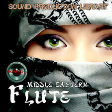 Middle Eastern Flute Unique Perfect Wave/Nki Multi-Layer Samples Library on Dvd