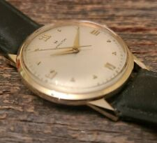 Hour glass lugs, Lovely Vintage 1950s 14K Solid Gold Hamilton Randolph Watch