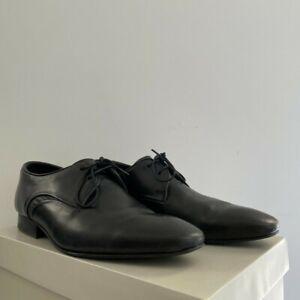 """Hudson """"H by Hudson"""" Dawlish Derby Shoes in Black (EU 44 = US 11)"""