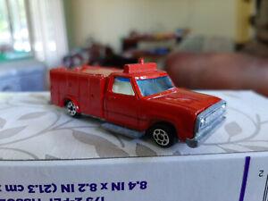 """EMERGENCY 51"" TV show diecast metal DODGE truck RARE"