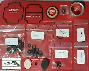 Range Rover P38 EAS Valve Block O rings,Diaphragm,Piston Ring Cylinder liner +