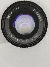 Nikon Series 50mm F1.8 E MESSA A FUOCO MANUALE focale fissa AI-S