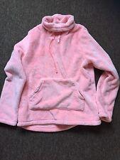 Womens Ladies Girls Pyjama Top Size 12-14 UK Soft Fluffy PJ's Pink