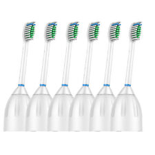 6 Pack Replacement Brush Heads fits Philips Sonicare E series Toothbrush HX7002