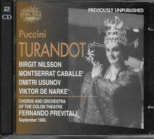 Birgit Nilsson/Montserrat Caballe - Turandot CD (Live Recording - RARE)