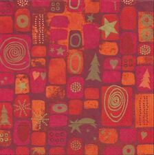 Lot de 2 Serviettes en papier Noël décor mosaïque Decoupage Collage Decopatch