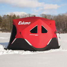 FF949 ESKIMO FATFISH WIDE BOTTOM POP UP PORTABLE ICE SHELTER SALES MODELS