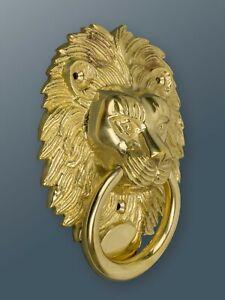 Brass Bee Door Knocker - Brass Finish - Solid Brass Lion Door Knocker