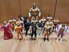 """Lote 17 Figuras WWF WWE Figure Lot Exclusive Undertaker! Triple H 12"""""""