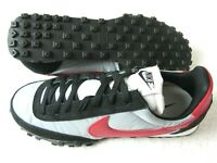 Nike Mens Waffle Racer Vintage Running Shoes Wolf Grey Grey Red Black Size 8.5