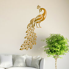 Peacock Wall Sticker Birds Decal Art Livingroom Vinyl Mural Graphics Hall Decor
