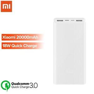Xiaomi Mi Power Bank 3 20000mAh Dual USB-C Battery Pack Portable Phone Charger
