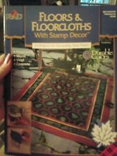 Decorative Tole Painting Pattern Book Floors & Floorcloths With Stamp Decor