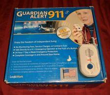 Guardian Alert 911 MEDICAL ALERT Full System with Voice Pendant LogicMark 30511
