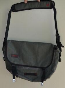 Timbuk2 Grey Classic Messenger Bag Size Small Adjustable Shoulder Strap