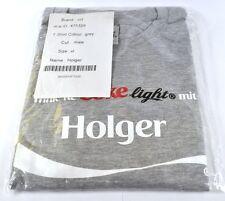 COCA-COLA COKE Holger Camiseta gris tamaño XL NOMBRE de Pila con