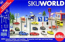 SIKU WORLD ROAD SIGNS AND STREET LAMPS SEGNALI STRADALI E LAMPIONI ART 5594