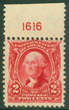 EDW1949SELL : USA 1903 Scott #301 Plate number single. MNH. PO Fresh. Cat $37+