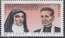 West-Germany 1988 Beatification of Edith Stein & Rupert Mayer by Pope # 1547 MNH