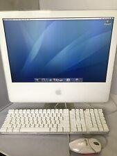 "Apple Imac G5 3.0 17"" Desktop Computer G5 1.8 Ghz, White  2.0 GB Power Mac8"
