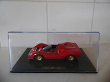 IXO MODELS - FERRARI 330 P4   RED PAINTWORK - 1/43 SCALE