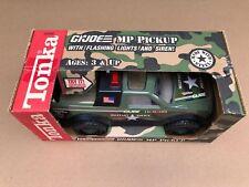 """92245 Tonka GI Joe MP Pick Up Truck 12"""" Pressed Steel Toy Truck MISB - RARE BOX"""
