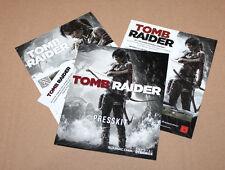 2013 Tomb Raider Lara Croft Some Paperwork from the German Press Kit