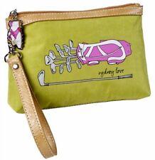 NEW SYDNEY LOVE PINK GOLF Wristlet Green