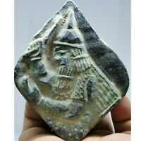3rd century sassanian Ancient king   stone carved