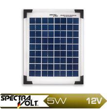 5W Watt 12V Solarmodul Polykristallin Solarpanel Poly Wohnmobil spectravolt DIY