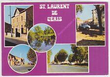 CPSM 16450  ST LAURENT DE CERIS Multivues 5 vues Edt COMBIER