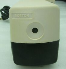 Boston Electric Pencil Sharpener Model 19 Sharpens To a Needle Point Made In USA
