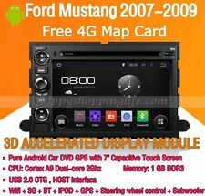 Android Multimedia Player for Ford Mustang 2007-2009 DVD GPS Navi Radio Stereo
