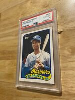 Ken Griffey Jr. PSA 6 Rookie 1989 Topps Traded #41T Collector Card Man Cave GIFT