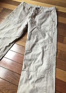 Patagonia Men's 100% Organic Cotton Outdoor Pants Beige Size 35x30