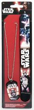 Joy Toy 91639 Star Wars Captain Phasma Slap Band and Necklace with Pendant Set