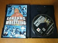 Legends of Wrestling (Sony PlayStation 2, 2001) PS2 WWE WCW NWA Complete