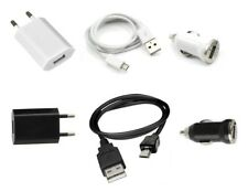 Ladegerät 3 in 1 Sektor + Auto + USB Kabel ~ Motorola Flipout / glänzen / EX112