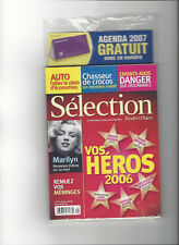 READER'S DIGEST SELECTION MARILYN MONROE FRENCH JANUARY JANVIER 2007 RARE
