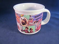 2002 Hersheys Chocolate Advertizing Ceramic Cocoa Mug 12oz
