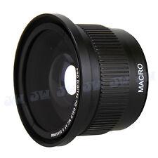 58MM 0.35X Fisheye & Macro Lens for Canon EOS 700D 650D 600D 550D 500D 18-55MM