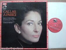 MARIA CALLAS – CALLAS A PARIGI / PARIS LP La Voce Del Padrone 3C065-00578 PRETRE