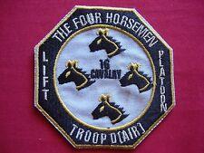 Troop D (Air) LIFT Platoon 16th Air Cavalry THE FOUR HORSEMEN Vietnam War Patch