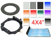 100mm*100mm ND2+ND4+ND8 filter+55mm ring + holder Kit For Cokin Z LEE
