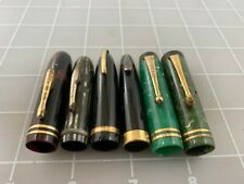 Judd's Lot of 5 Nice Used Fountain Pen Caps - Sheaffer Conklin & Parker