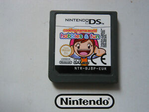 COOKING MAMA  HOBBIES & FUN * NINTENDO GAME DS / DS LITE / DSi . 100% GENUINE