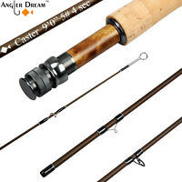 5WT Fly Rod 30T Carbon Fiber Fly Fishing Rod with Fly Rod Case