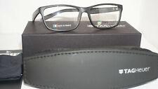 TAG HEUER New Authentic Eyeglasses B Urban Black Grey 0553-001 57 16 145