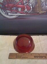 NOS Indian Vertical Chief Scout Arrow Warrior Amberina Red Glass Taillight Lens