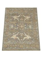 8X10 Brown Oushak Hand-Knotted Wool Area Rug Oriental Carpet (8.5 x 9.11)